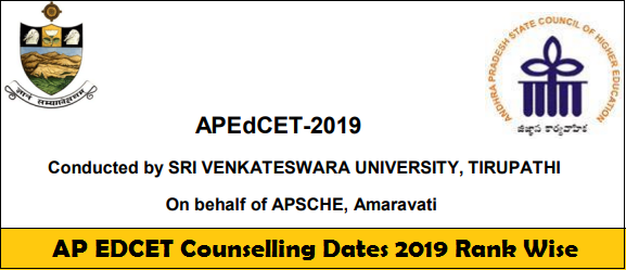 AP EDCET Counselling Dates