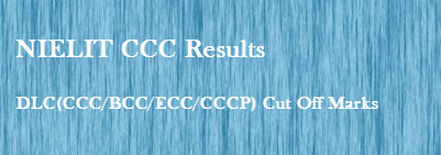 CCC Certificate Result