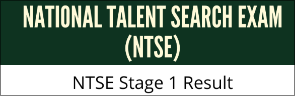 NTSE Stage 1 Results