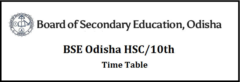 BSE-Odisha-Time-Table-2021