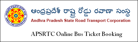 APSRTC Online Bus Ticket Booking