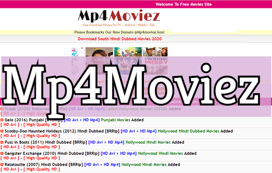 Mp4moviez 2020 Download Movies Illegal Website For Bollywood Hollywood Punjabi Web Series In Hd News