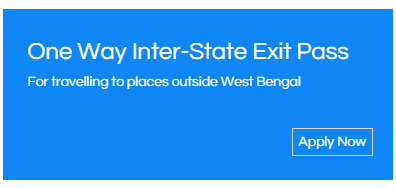 WB Inter Sate Travel Registration at http://covidwbgov.in/exit/aspx/SignIn.aspx