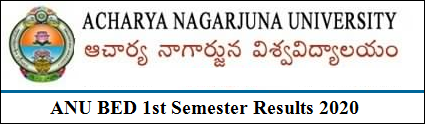ANU BED 1st Semester Results