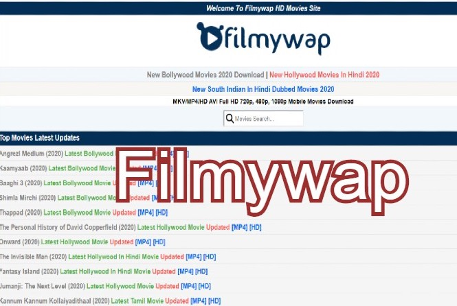 Filmywap 2020 Free Bollywood Movies Download Illegal Website For New Hindi Punjabi Hollywood South Dubbed Movie News