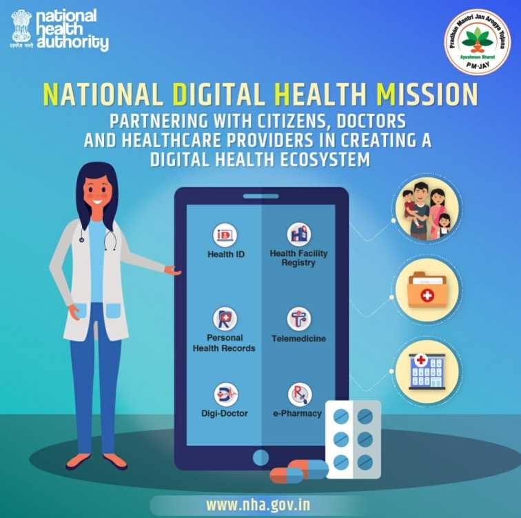 National Digital Health Mission - Health ID Card