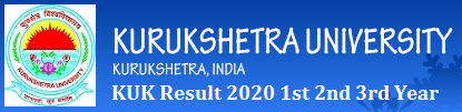kurukshetra university result 2020 KUK 1st 2nd 3rd/Final Year Result