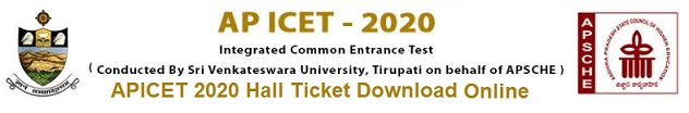 AP ICET Hall Ticket 2020 Download APICET Admit Card