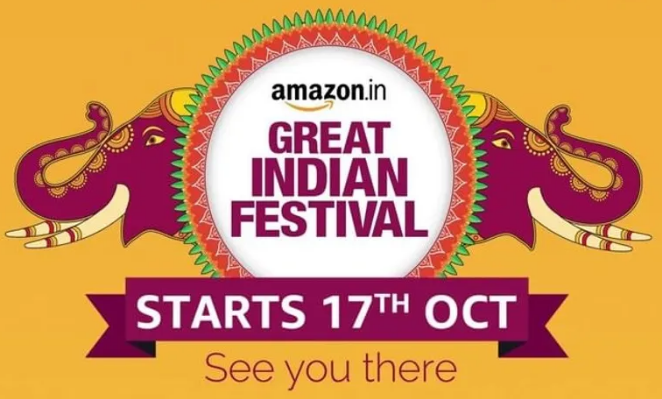 Amazon Great Indian Festival 17 October 2020