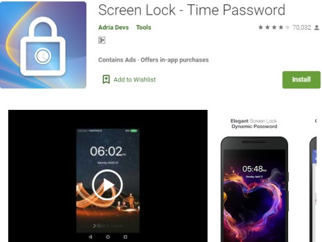 Screen Time Lock by tchnewstop