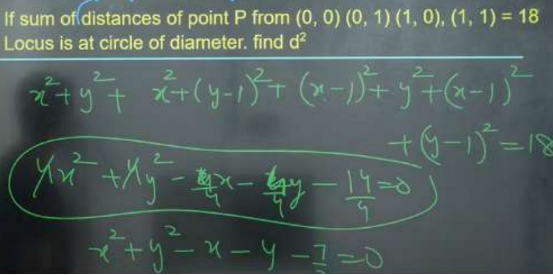 JEE Main Session 4 Day 1 Math Question
