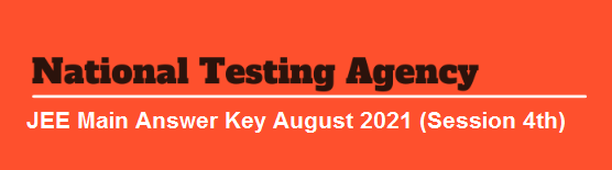NTA-JEE-Main-August-2021-Session-4th-Answer-Key