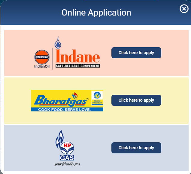 PMUY 2.0 GAS Agencies Name and Select one