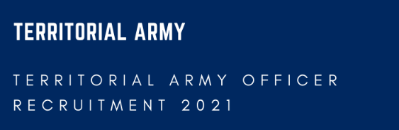 Territorial Army Officer Bharti 2021 for Civilians