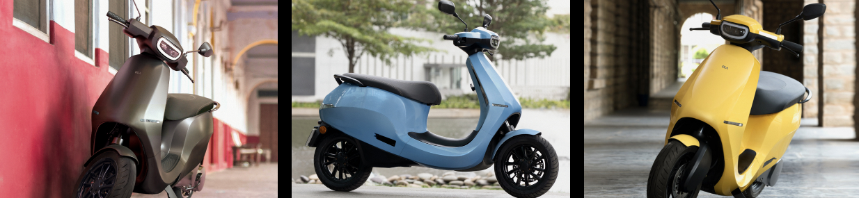Ola Electric Scooter Colors