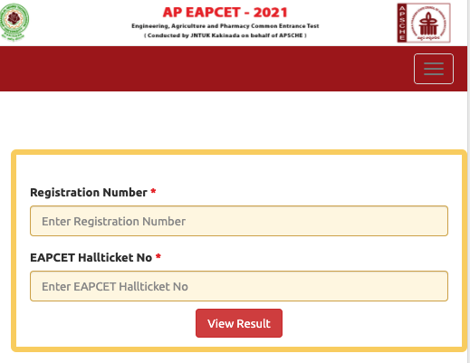 AP Eamcet Agriculture Results 2021 Manabadi