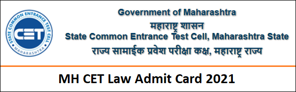 MH CET Law Hall Ticket 2021