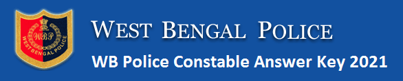 WB Police Constable Answer Key 2021