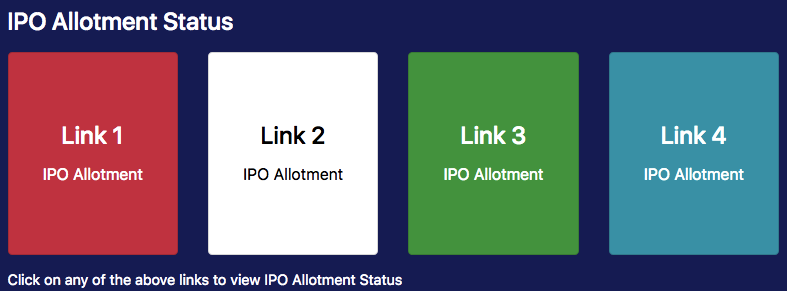 linkintime.co.in ipo allotment status